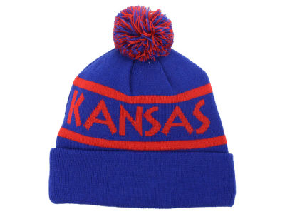 Kansas Jayhawks Top of the World NCAA Slugfest Pom Knit