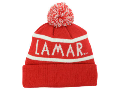 Lamar University Cardinals Top of the World NCAA Slugfest Pom Knit