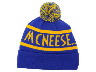 McNeese State Cowboys Top of the World NCAA Slugfest Pom Knit