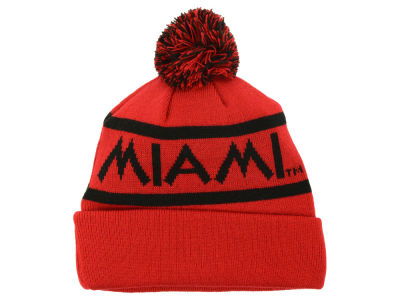 Miami (Ohio) Redhawks Top of the World NCAA Slugfest Pom Knit