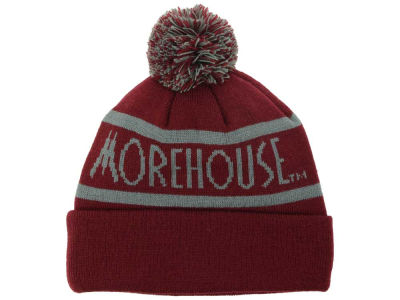 Morehouse Maroon Tigers Top of the World NCAA Slugfest Pom Knit