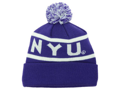 New York University Bobcats Top of the World NCAA Slugfest Pom Knit