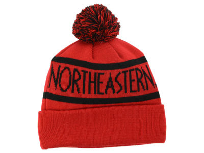 Northeastern Huskies Top of the World NCAA Slugfest Pom Knit