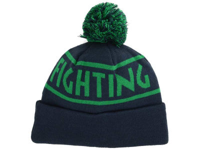 Notre Dame Fighting Irish Top of the World NCAA Slugfest Pom Knit