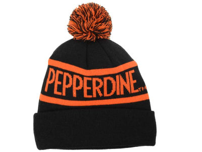 Pepperdine Waves Top of the World NCAA Slugfest Pom Knit