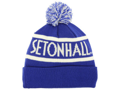 Seton Hall Pirates Top of the World NCAA Slugfest Pom Knit