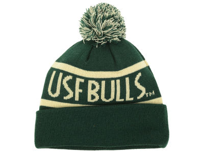 South Florida Bulls Top of the World NCAA Slugfest Pom Knit