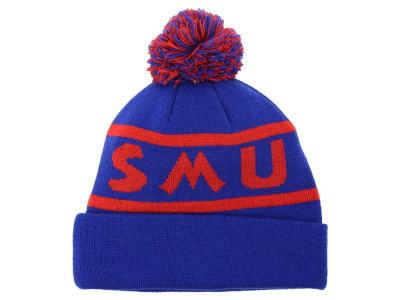 Southern Methodist Mustangs Top of the World NCAA Slugfest Pom Knit