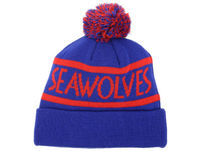 Stonybrook University Seawolves Top of the World NCAA Slugfest Pom Knit