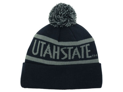 Utah State Aggies Top of the World NCAA Slugfest Pom Knit