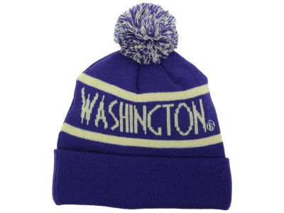 Washington Huskies Top of the World NCAA Slugfest Pom Knit