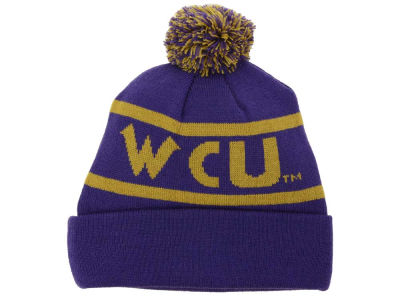 Western Carolina Catamounts Top of the World NCAA Slugfest Pom Knit