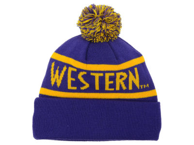 Western Illinois Leathernecks Top of the World NCAA Slugfest Pom Knit