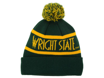 Wright State Raiders Top of the World NCAA Slugfest Pom Knit