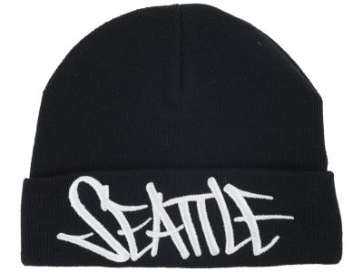 Seattle 2014 City Script Cuffed Knit