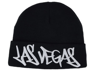 Las Vegas 2014 City Script Cuffed Knit
