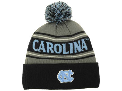 North Carolina Tar Heels Top of the World NCAA Charcoal Ambient Pom Knit