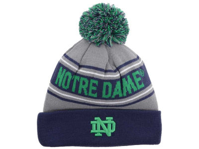 Notre Dame Fighting Irish Top of the World NCAA Charcoal Ambient Pom Knit