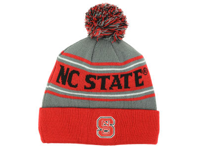 North Carolina State Wolfpack Top of the World NCAA Youth Charcoal Ambient Pom Knit