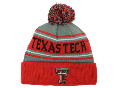 Texas Tech Red Raiders Top of the World NCAA Youth Charcoal Ambient Pom Knit
