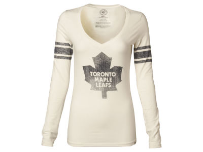 Toronto Maple Leafs NHL Womens Homerun Long Sleeve T-Shirt