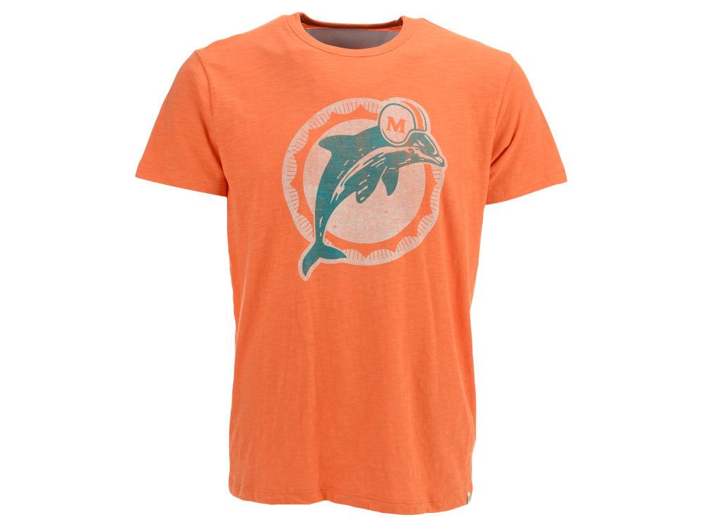 Miami Dolphins  47 NFL Retro Logo Scrum T-Shirt  f9fb0bdbb