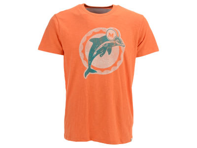 Miami Dolphins '47 NFL Retro Logo Scrum T-Shirt