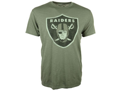 Oakland Raiders '47 NFL Logo Scrum T-Shirt