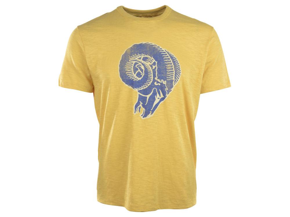 Los Angeles Rams  47 NFL Retro Logo Scrum T-Shirt  57e5c4bc1