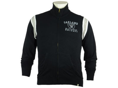 Oakland Raiders NFL Men's Bruiser Track Jacket