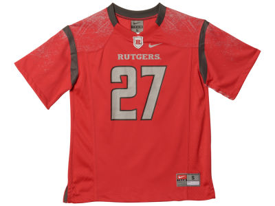 Rutgers Scarlet Knights NCAA Youth Replica Football Game Jersey