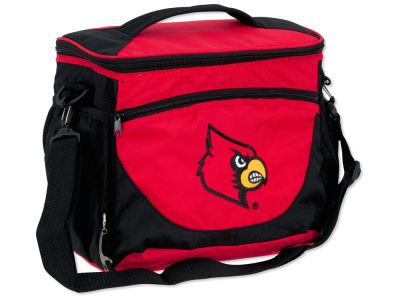 Louisville Cardinals Logo Brands 24 Can Cooler