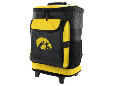 Iowa Hawkeyes Logo Brands Rolling Cooler