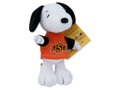Oklahoma State Cowboys 8in Snoopy Plush