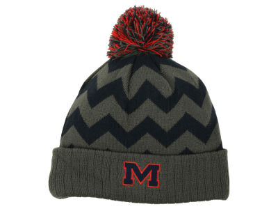 Ole Miss Rebels Top of the World NCAA Chevron Pom Knit