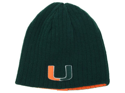 Miami Hurricanes Top of the World NCAA Roust Reversible Knit
