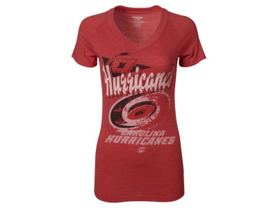 Carolina Hurricanes Reebok NHL Women's 2014 Primary Team Collage V-Neck T-Shirt