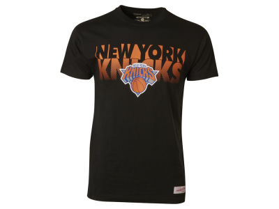 New York Knicks Mitchell and Ness NBA Men's Team Shadow Traditional T-Shirt
