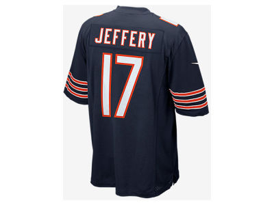 Chicago Bears Alshon Jeffery Nike NFL Men's Game Jersey