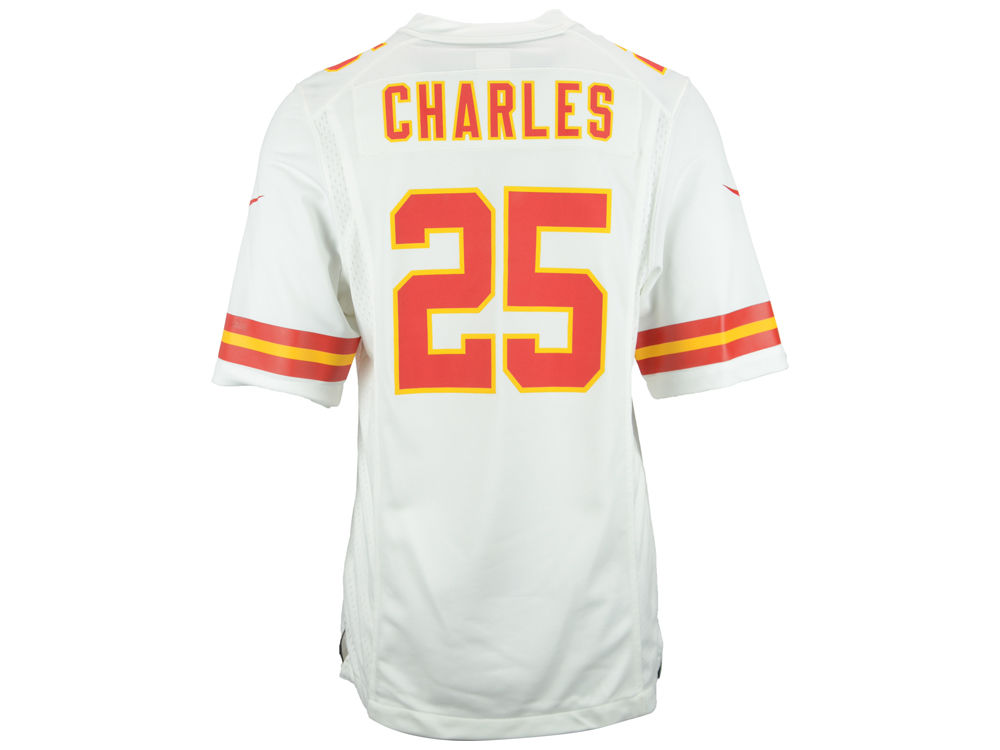 new styles 5952b 92de4 Kansas City Chiefs Jamaal Charles Nike NFL Men's Game Jersey