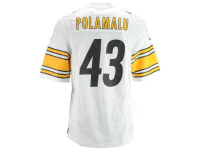 Pittsburgh Steelers Troy Polamalu Nike NFL Men's Game Jersey