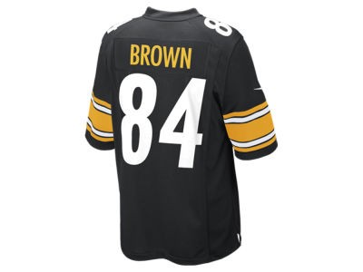 Pittsburgh Steelers Antonio Brown Nike NFL Men's Game Jersey
