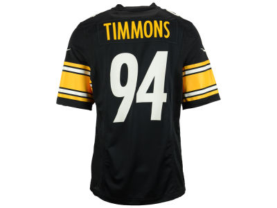 Pittsburgh Steelers Lawrence Timmons Nike NFL Men's Game Jersey