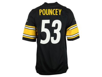 Pittsburgh Steelers Maurkice Pouncey Nike NFL Men's Game Jersey