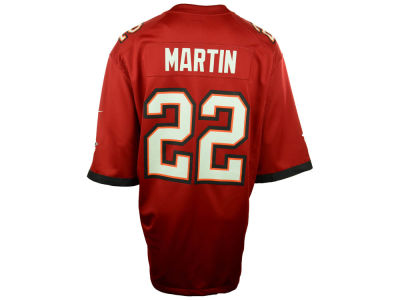 Tampa Bay Buccaneers Doug Martin Nike NFL Game Jersey Extended Size