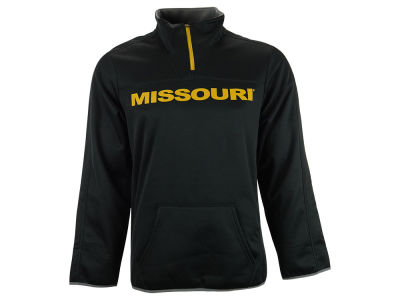 Missouri Tigers NCAA Men's Last Quarter 1/4 Zip Pullover Shirt