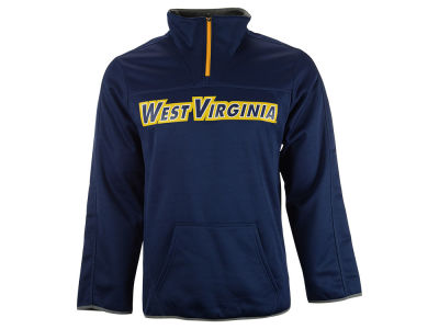 West Virginia Mountaineers NCAA Men's Last Quarter 1/4 Zip Pullover Shirt