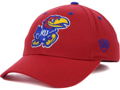 Kansas Jayhawks Top of the World NCAA Memory Fit Dynasty Fitted Hat