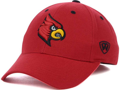 Louisville Cardinals Top of the World NCAA Memory Fit Dynasty Fitted Hat