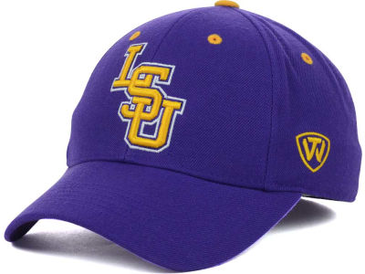 LSU Tigers Top of the World NCAA Memory Fit Dynasty Fitted Hat